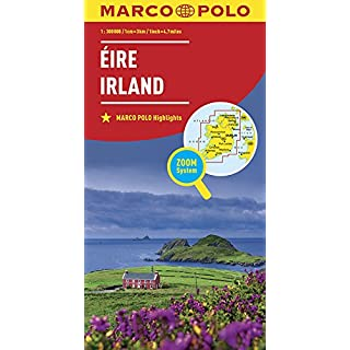 MARCO POLO Länderkarte Irland 1:300 000: Wegenkaart 1:300 000 (MARCO POLO Länderkarten)
