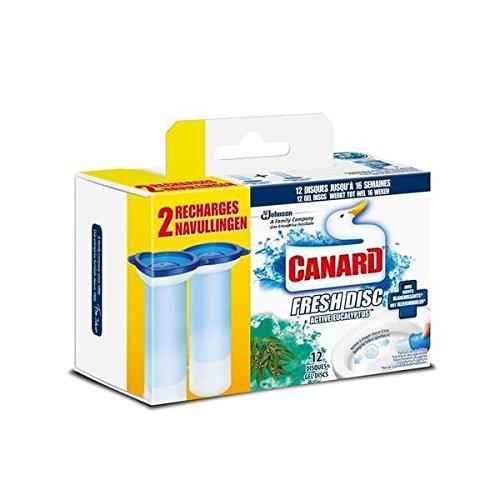 canard-wc-fresh-eucalyptus-disco-activ-recharge-2-x-6-unita-prezzo-unitario-spedizione-veloce-e-puli