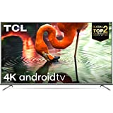 TCL 125.7 cm (50 inches) 4K Ultra HD Smart Certified Android LED TV 50P8E (Black) (2019 Model)