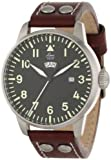 Laco Genf 1925 Pilot Classic Analog Quartz Watch with Day and Date 861807