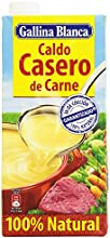 Gallina Blanca - Caldo Casero de Carne - 100% natural - 1 l - [pack de 3]