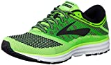 Brooks Herren Revel Laufschuhe, Grün (Green/Black/White 1d340), 44 EU