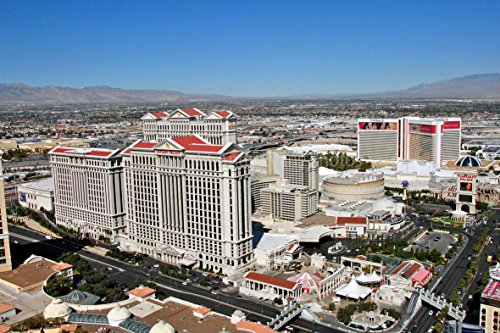 Eine 45,7x 30,5cm Fotografieren Fotodruck Caesars Palace Hotel und Casino Las Vegas Nevada United Staaten von Amerika Landschaft Foto Farbe Bild Fine Art Print. Fotografie von Andy Evans Fotos -