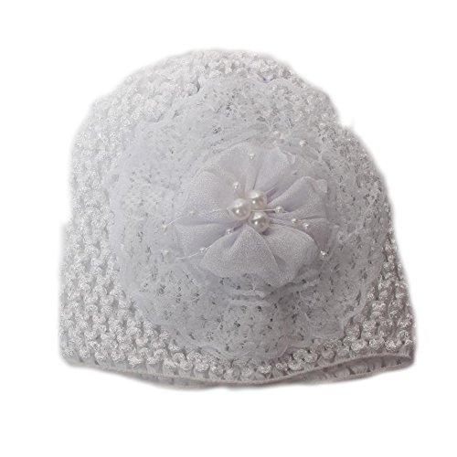 JUSTFOX - Süße Baby Mütze (Weiß)