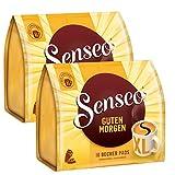 Senseo Kaffeepads Guten Morgen XL, Stark & Intensiv, 2er Pack, á 125 g