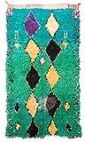 Trendcarpet Tappeto Berberi dal Marocco Boucherouite 235 x 130 cm