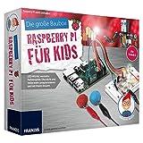 FRANZIS Die große Baubox: Raspberry Pi für Kids | LED-Würfel, verrückte Farbenspiele, Discolicht und vieles mehr programmieren