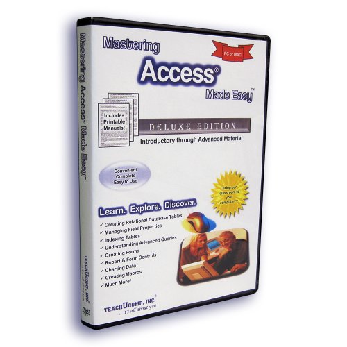 Mastering Microsoft Access 2013 Made Easy Training Tutorial Video Course Test