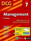 Management - épreuve 7 - DCG manuel (French Edition)