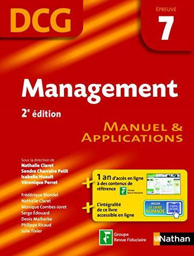 Management - preuve 7 - DCG manuel