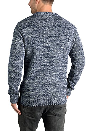 SOLID Pindaric - Pull en Maille- Homme Insignia Blue (1991)