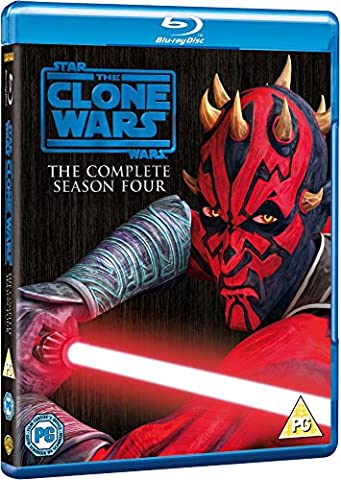 Star Wars: The Clone Wars - The Complete Season Four [Blu-ray] [STANDARD EDITION] [Import anglais]