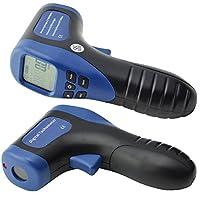 Ehdis Digital LCD láser foto tacómetro sin contacto RPM metro Velocidad del motor Velocidad Tipo de pistola Estilo de superficie Velocidad Tachímetro Speedo