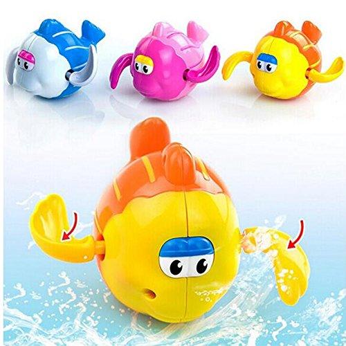 Preisvergleich Produktbild OFT Babyspielzeug Badewannespielzeug Kleine Fisch Spielzeug (zufällige Farbe)