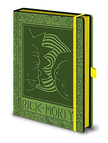 Libreta A5 Face 2 Face. Rick and Morty