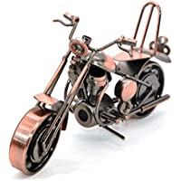 Creative mano soldadura hierro forjado motocicleta metal modelo moto Home escritorio decoración adornos, metal, Model 1