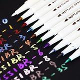 Butterme point métallique marqueur stylos, Lot de 10 couleurs