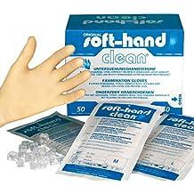 Soft de mano 00368800Clean Guantes, 1par, esterilizadas., M (100unidades)