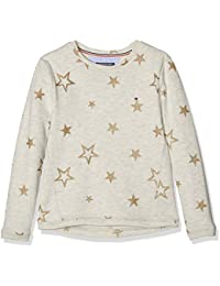 Tommy Hilfiger Star Cn Hwk L/S, Sweat-Shirt Fille