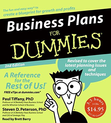 Business Plans for Dummies 2nd Ed. CD