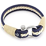 Nautical Bracelets By Constantin Nautics Awesome Handmade Bracelets of Nautical Sailing Rope- Large Variety of Different Colors - With Stainless Steel Screw Barrel Clasps - Gift Idea For Men & Women …