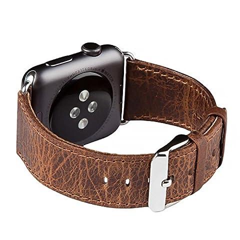 Armband für die Apple Watch, FUTLEX - 42 mm Echtleder