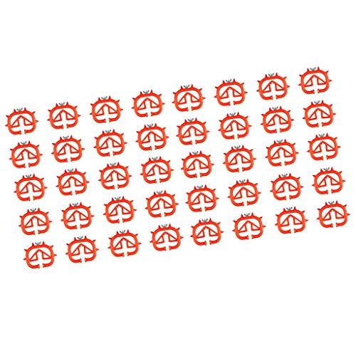 Sharplace 40 Pièces De Trèfle Pour Petit Sevrage Utilisation À Ferme Pour Bétail Trèfle Durable, Confortable