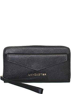 Lancaster Saffiano Signature Portemonnaie cuir 19 cm