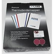Buchbindemappen Thermo Bindemappe Hardcover 6 mm grau