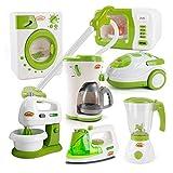 Mini cocina Juguetes Estimular Electrodomésticos hijos de muebles de la casa accesorios eléctricos Cocinando Modelo Juego de imaginación juguetes de la casa de la novedad de los juguetes para niños