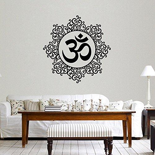 Decals Design 'Designer Om' Wall Sticker (PVC Vinyl, 60 cm x 60...
