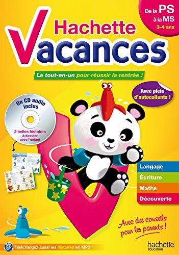 Hachette Vacances PS/MS par Ann Rocard