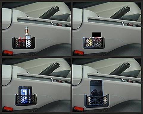 XtremeAuto® Storage Net Pocket Elasticated Netting - Wallet, Keys. Phone