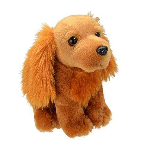 Wild Planet All About Nature-23 cm Cocker épagneul à la Main, Peluche réaliste, Multicolore (K8225