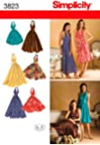 Simplicity Sewing Pattern 3823 R5 Misses Dresses