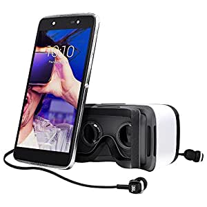 Alcatel IDOL 4+ UK SIM-Free Smartphone with VR Goggles