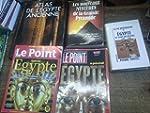Lot de 5 livres et revues sur l'�gypt...