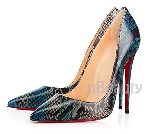 uBeauty - Scarpe da Donna - Scarpe col Tacco - Classiche Scarpe col Tacco - Sexy Tacchi alti Serpentina A
