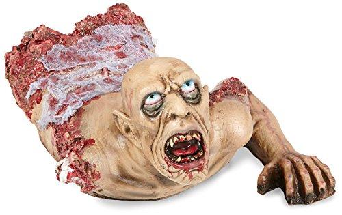 Widmann vd-wdm00489Büste Zombie schleichende mit Gaze, Mehrfarbig, 72cm -