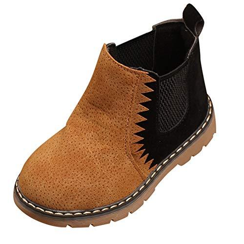 Manadlian-Chaussures bébé Bébé Boots, Martin Sneaker Bottes Enfants Chaud Garçons Filles Bébé Occasionnel Couture et Velours Chaussures