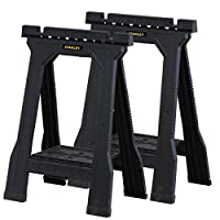 Stanley Folding Junior Sawhorse - Twin Pack