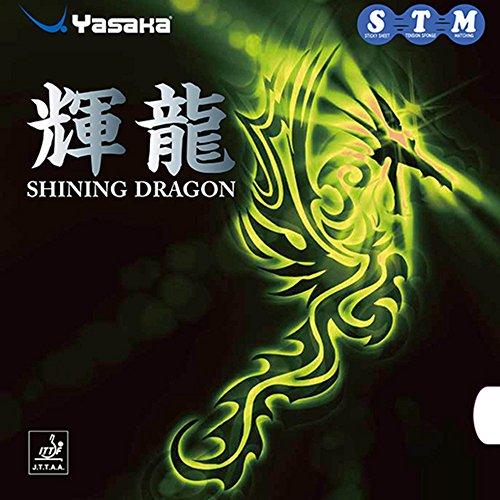 Unbekannt Yasaka Belag Shining Dragon, 2,0 mm, Schwarz