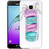 Étuis pour téléphone cellulaire , Pour Samsung Galaxy A3 (2016) / A310 Macarons Motif Housse de protection TPU Workmanship doux IMD ( SKU : SAS0107A )