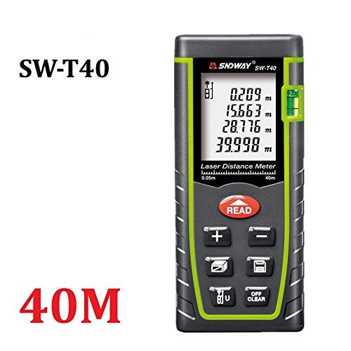 lintimes Laser-Distanzmessgerät Entfernungsmesser Range Finder Bj Maßnahme Gerät Test Werkzeug - 40 m