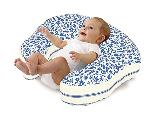 Love2Sleep BABY FEEDING/ NURSING PILLOW 250 THREAD COUNT COTTON COVER : SEASIDE