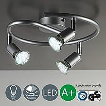 B.K.Licht 30-01-03S-T iluminación de techo - Lámpara