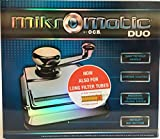 Mikromatic Duo OCB | tuber pour cigarettes | incl 250?h?llsen de Marlboro Red Extra filterh?llsen | Chrome poli Nouveau format de h?llsen