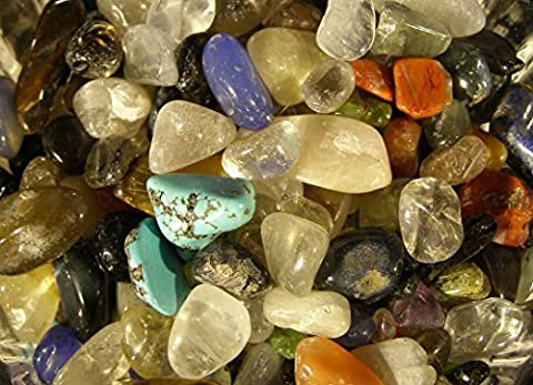 500g Mixed Small (3mm - 10mm) Tumbled and Polished Tumblestones