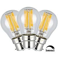 TAMAYKIM G45 6W Dimmerabile Antico Edison Stile Filamento Lampadina LED