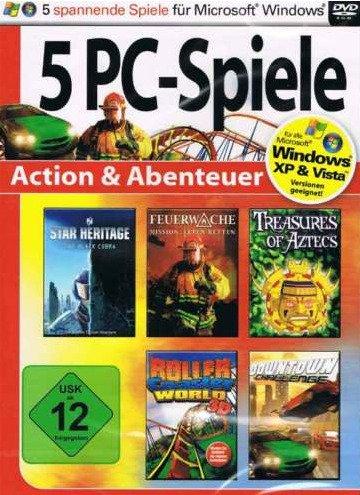 5 PC-Spiele Action & Abenteuer. Windows XP; 2000; ME; 98